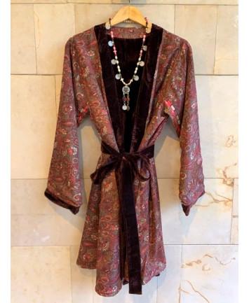 Kimono Tokio Marrón
