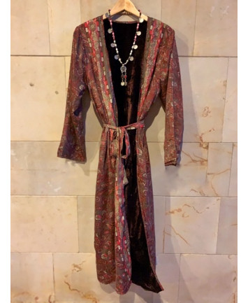 Kimono Nepal Marrón