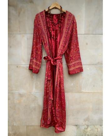 Kimono Nepal Rojo